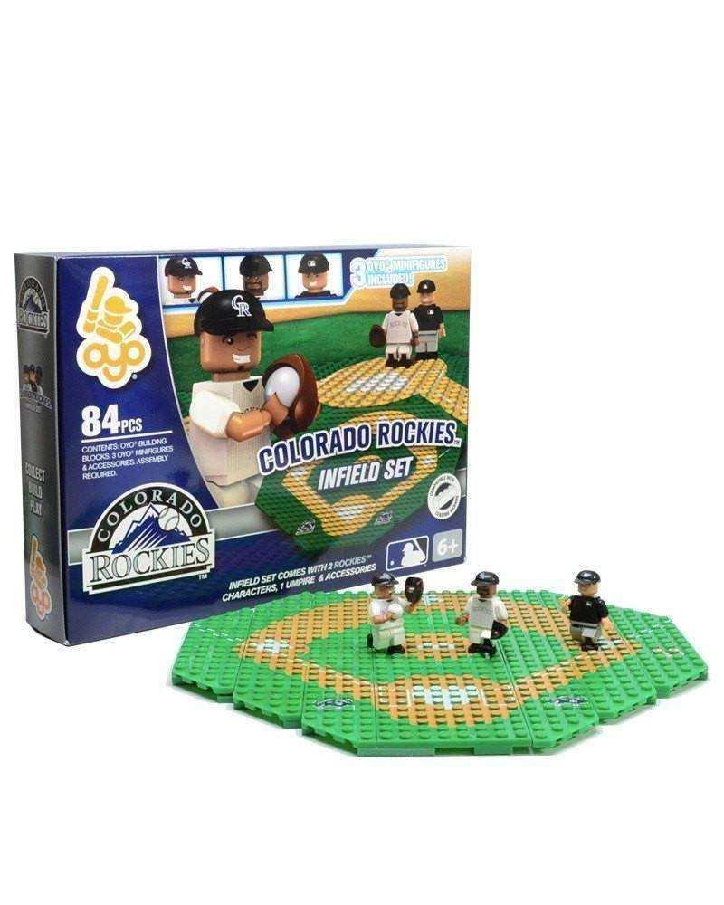 Colorado Rockies MLB Infield Set by Oyo Sports