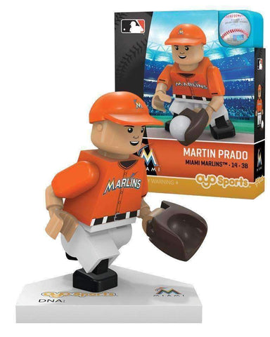Martin Prado Miami Marlins MLB Player mini figure by Oyo Sports