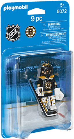 Boston Bruins Goalie NHL Hockey Player figure by Playmobil