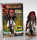 Pirates of the Caribbean Cannibal Jack Sparrow Bobblehead NECA NIB NIP Disney