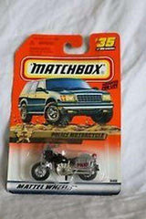 1999 Matchbox Law & Order Police Motorcycle