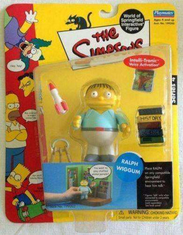 The Simpsons Ralph Wiggum World of Springfield Interactive Figure by Playmates
