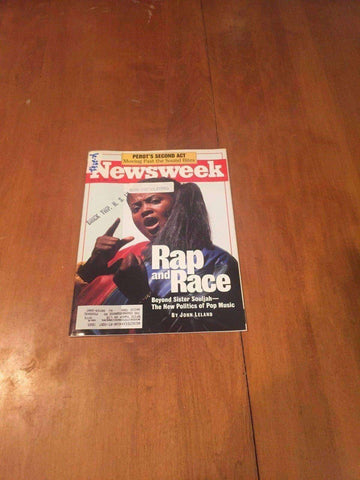 Newsweek Magazine Affirmative Action Race April 3 1995 John Tesh