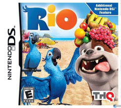 Rio Nintendo DS Video Game NIB THQ NIP new in sealed package