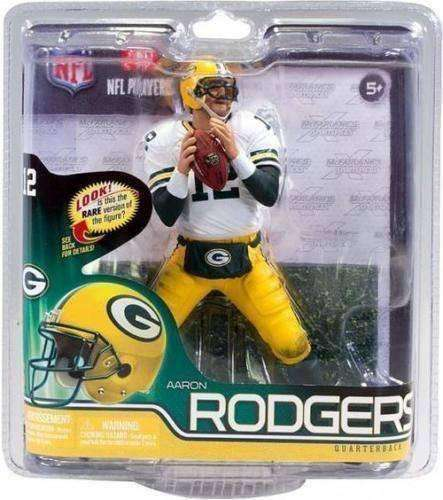 Aaron Rodgers Green Bay Packers McFarlane action figure