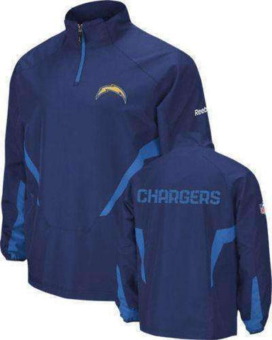 San Diego Chargers 1/4 zip pullover by Reebok size 2XL