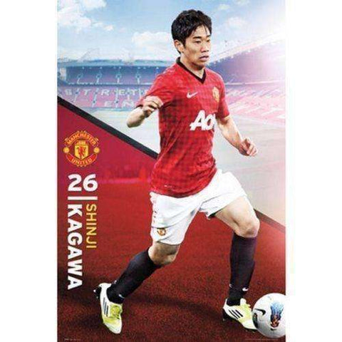 Shinji Kagawa Manchester United Poster by GB Eye