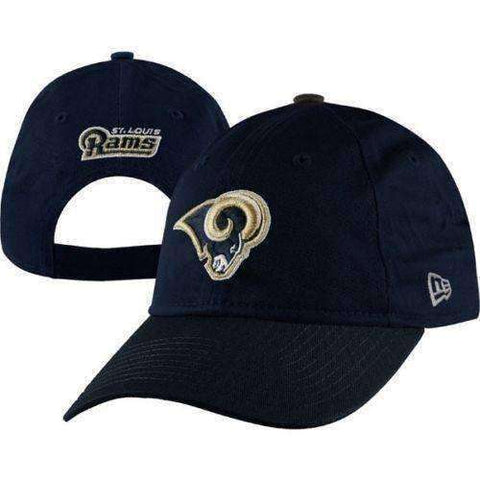 St Louis Rams Women's NFL adjustable hat by New Era