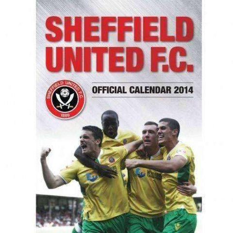 Sheffield United FC 2014 Calendar by Grange New