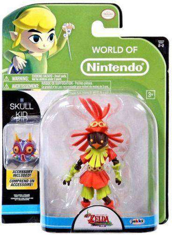 The World of Nintendo The Legend of Zelda Skull Kid with Mask Action Figure