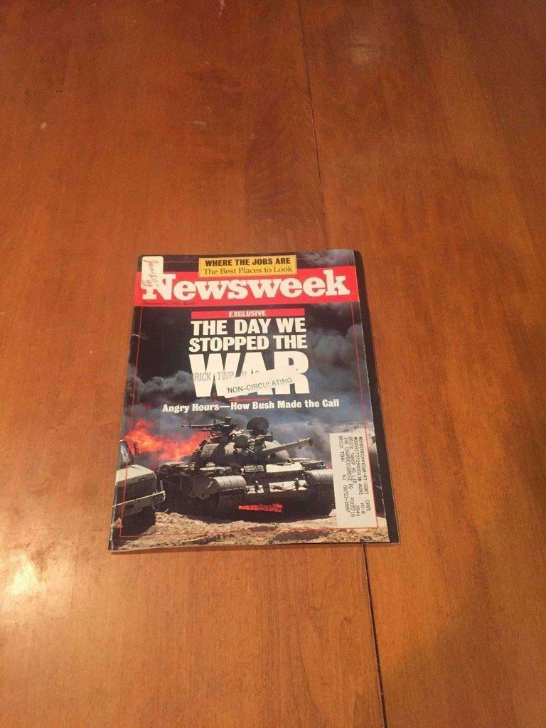 Newsweek Magazine The Day We Stopped The War January 20 1992 Desert Storm