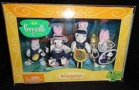 Furryville The Bunningtons in the Garden by Mattel New in Box