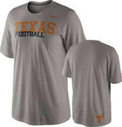 Texas Longhorns Football Nike Dri-Fit Youth T-shirt