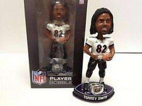 Torrey Smith Baltimore Ravens Super Bowl XLVII Champions NFL Bobblehead Forever Collectibles NIB