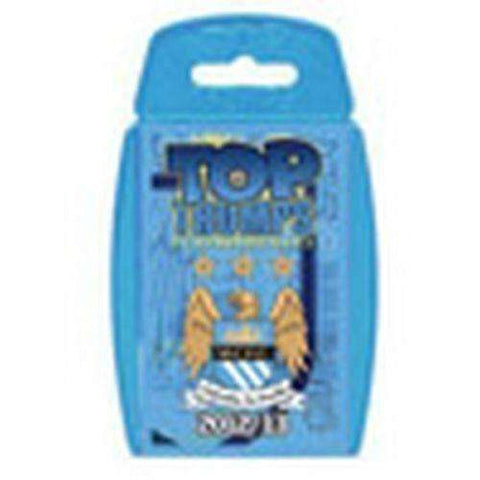 Tops Trumps Card Game Manchester City 2012/2013 New English Premier League EPL
