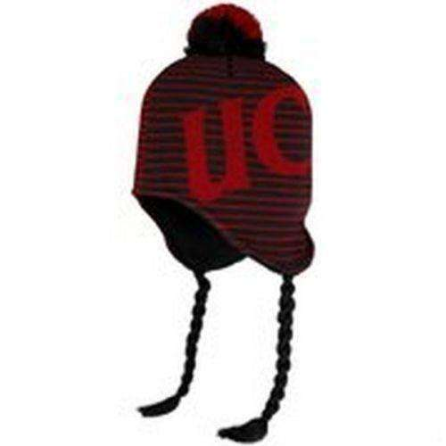 Cincinnati Bearcats knit tassel winter hat Adidas NWT NCAA Cincy UC