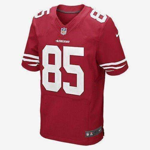 Vernon Davis San Francisco 49ers NFL Nike Jersey NWT Niners new with t