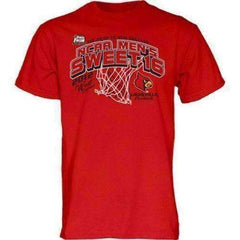 Louisville Cardinals Sweet 16 t-shirt Step Ahead March Madness NCAA Ville NWT