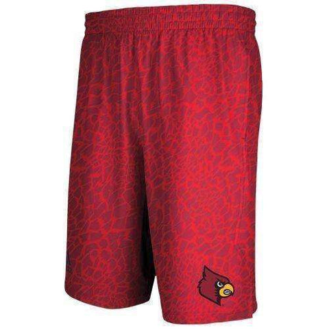 Louisville Cardinals College Basketball Shorts by Adidas