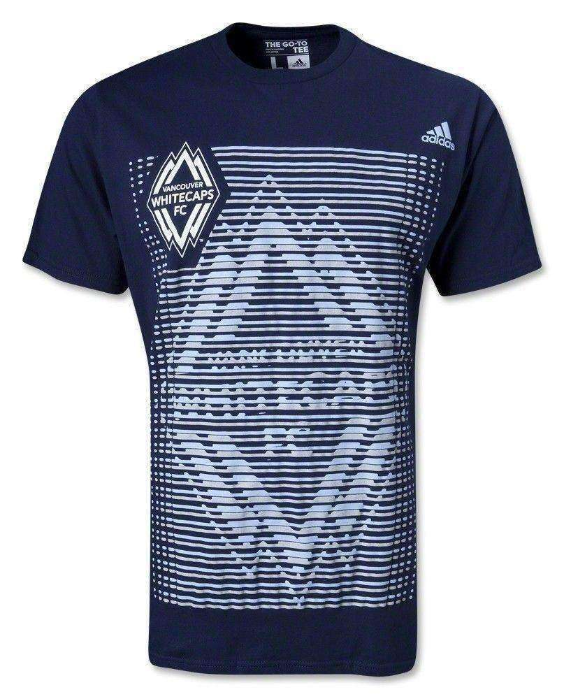 Vancouver Whitecaps FC MLS Adidas t-shirt NWT soccer Major League Soccer