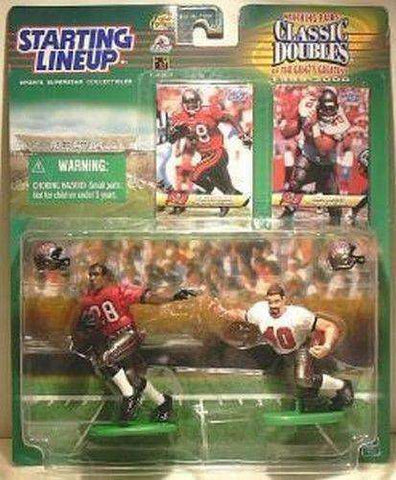 Warrick Dunn & Mike Alsott NFL Tampa Bay Buccaneers Starting Lineup Figures NIB