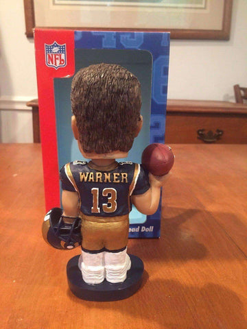 Kurt Warner St. Louis Rams NFL Bobblehead NIB Bobble Dobbles New in Box Alexander Global Promotions