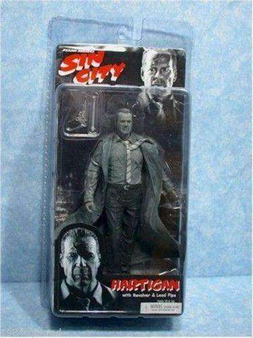 Sin City Black And White Hartigan with Revolver & Lead Pipe Action Figure by NECA