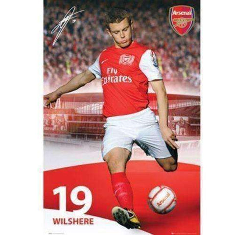 Jack Wilshere Arsenal FC Poster by GB Eye
