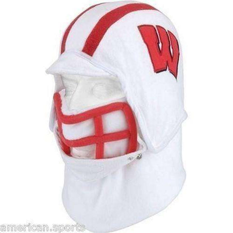 Wisconsin Badgers helmet hat by Excalibur
