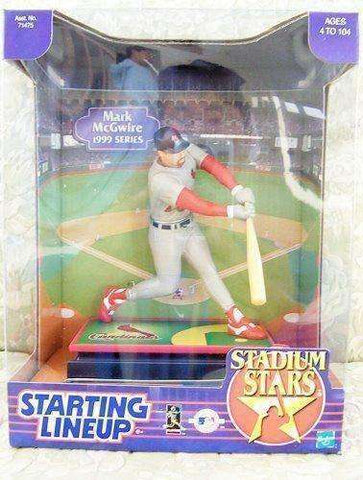 Mark McGwire St. Louis Cardinals MLB Starting Lineup action figure NIB Hasbro