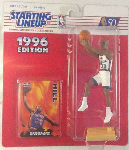 1996 Grant Hill Detroit Pistons Starting Lineup NBA Action Figure NIB Kenner NIP