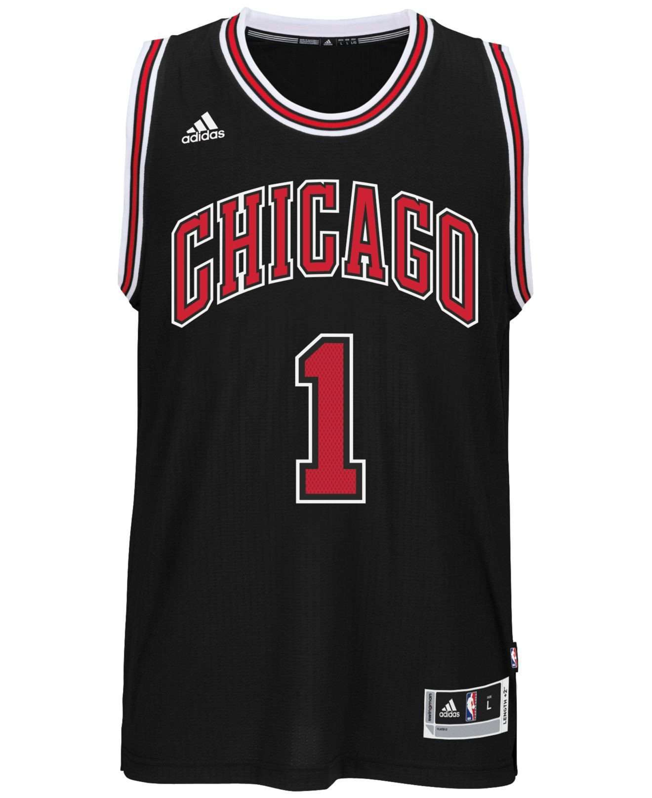 70aac7ad1 Derrick Rose Chicago Bulls Swingman Jersey by Adidas. Derrick Rose Chicago  Bulls Swingman Jersey by Adidas