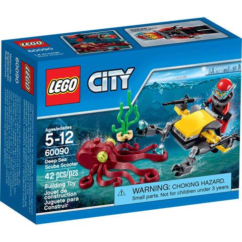 LEGO City Deep Sea Scuba Shooter