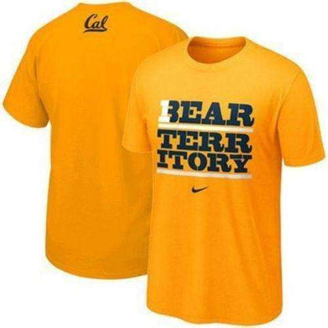 Cal Golden Bears t-shirt Nike California Bear Territory NWT PAC 12 NCAA