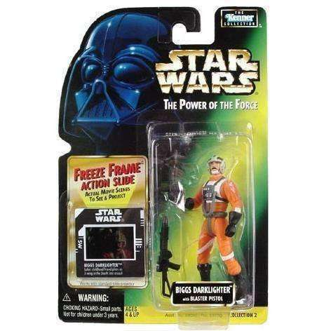 Star Wars Biggs Darklighter The Power of the Force action figure NIP NIB