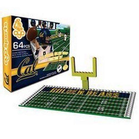 CAL Bears Endzone Football Set with 3 mini figures by Oyo Sports