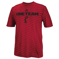 Cincinnati Bearcats Adidias Training Crew t-shirt NWT Cincy Climalite UC