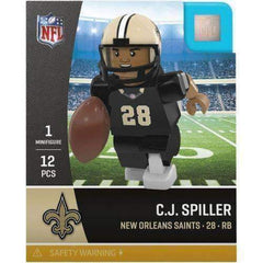 CJ Spiller New Orleans Saints NFL minifigure Oyo Sports NIB Generation 4