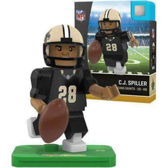 CJ Spiller New Orleans Saints NFL Player mini figure by Oyo Sports