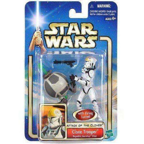 Clone Trooper Star Wars Attack of the Clones Action Figure NIP new in box Hasbro
