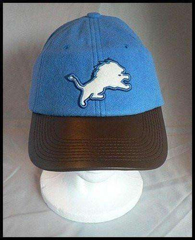 Detroit Lions Leather Bill hat by Reebok