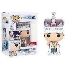 Sherlock King Moriarty Pop! Television Funko Vinyl Figure New in Box Hot Topic Exclusive NIP 293