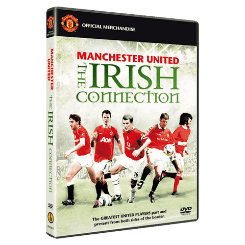Manchester United The Irish Connection DVD by Bombo Sports & Entertainment