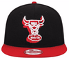 Image of Chicago Bulls NBA Windy City Snapback 9Fifty Hat by New Era NWT Sizes S/M & M/L