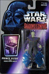 Star Wars Shadows of the Empire Pince Xizor with Energy Blade Shields Action Figure