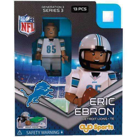 Eric Ebron Detroit Lions NFL Player mini figure by Oyo Sports
