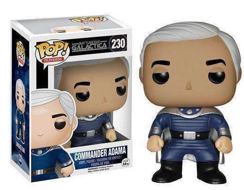 Battlestar Galactica Captain Adama Vinyl Figure by Funko