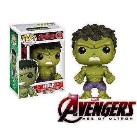 Hulk Marvel Avengers Age of Ultron Pop! Marvel Funko NIB new in box 68