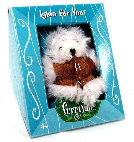 Furryville Igloo Fur You Figure by Mattel
