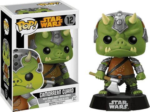 Camorrean Guard Star Wars Pop! Funko NIB new in package new in box 12
